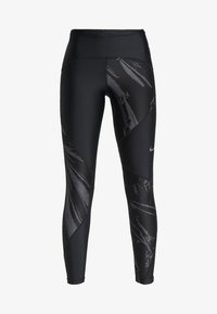 Nike Performance - SPEED - Punčochy - black/silver - 6