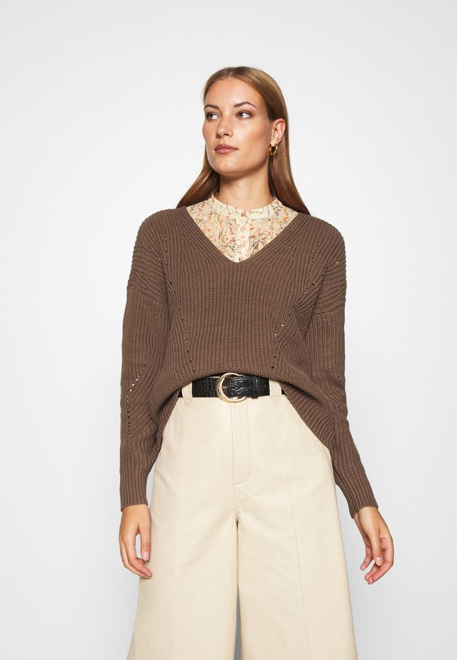 SHELLIA - Pullover - castor gray