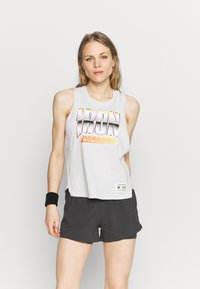 Under Armour - PROJECT ROCK IRON TANK - Top - summit white - 0