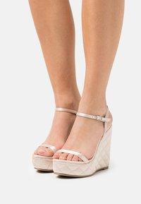 Tata Italia - Platform sandals - nude - 0