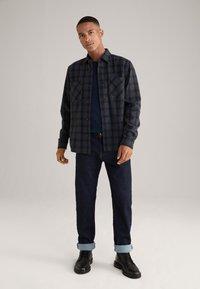 JOOP! Jeans - Shirt - navy/dunkelgrau kariert - 1