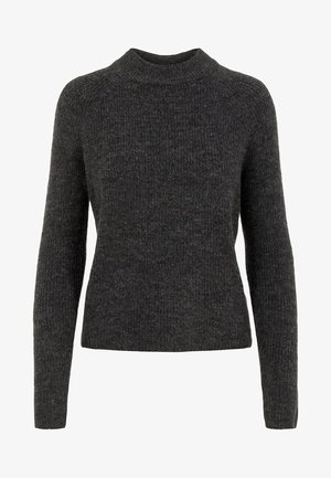 PCELLEN - Jumper - dark grey melange