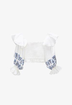 WABENMUSTER - Blouse - white