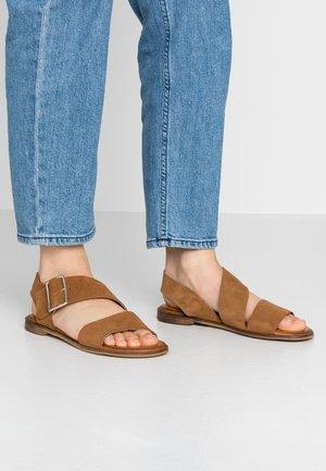 Sandales - muscade