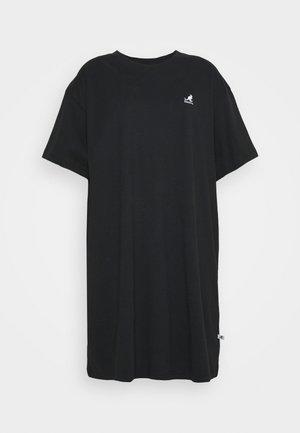 VIRGINIA T-SHIRT DRESS - Jersey dress - black