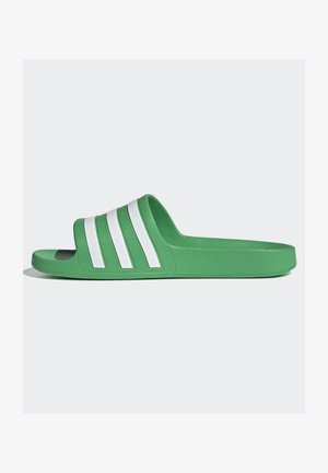 ADILETTE - Pool slides - green