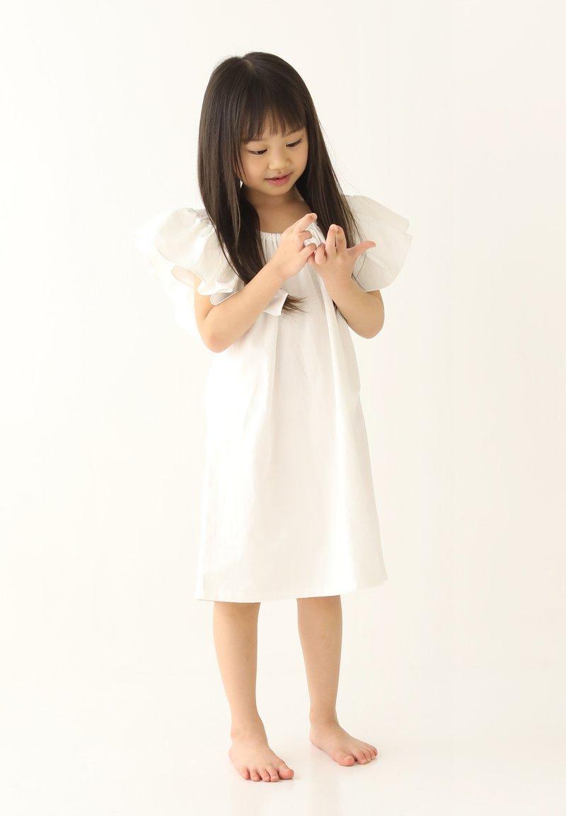 Rora - Korte jurk - white