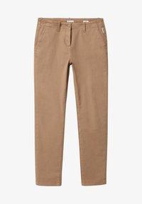 Napapijri - MERIDIAN - Trousers - beige portabel - 0