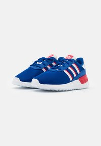 adidas Originals - LA TRAINER LITE SHOES - Trainers - team royal blue/footwear white/scarlet - 1