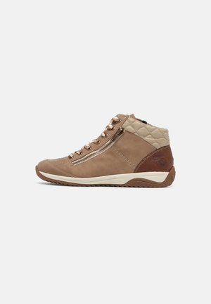 Korte laarzen - fango/brandy/beige