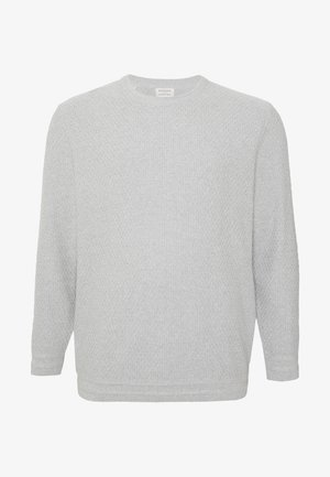 SLHOLIVER CREW NECK  - Neule - light grey melange