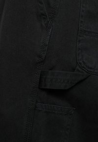 Carhartt WIP - RUCK SINGLE KNEE PANT MILLINGTON - Trousers - black stone washed - 5