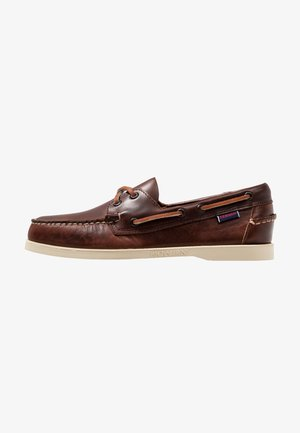 DOCKSIDES PORTLAND  - Chaussures bateau - brown