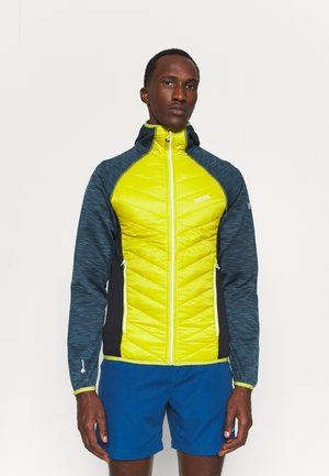 ANDRESON VI HYBRID - Outdoorjas - blue/yellow