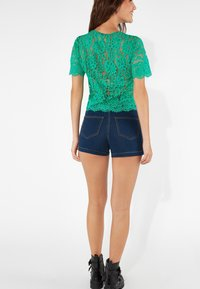 Tezenis - Denim shorts - dark blue jeans - 2
