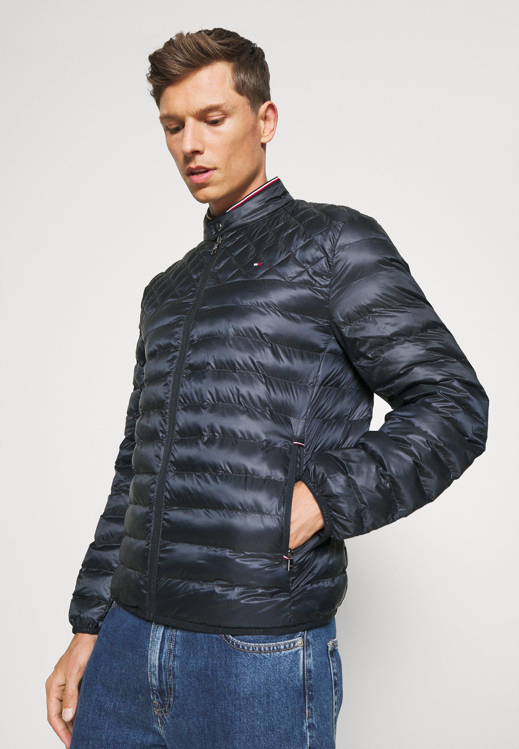 Men CIRCULAR QUILT MIX JACKET - Light jacket
