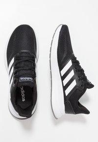 adidas Performance - RUNFALCON - Juoksukenkä/neutraalit - core black/footwear white/grey three - 1
