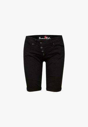 MALIBU - Denim shorts - black