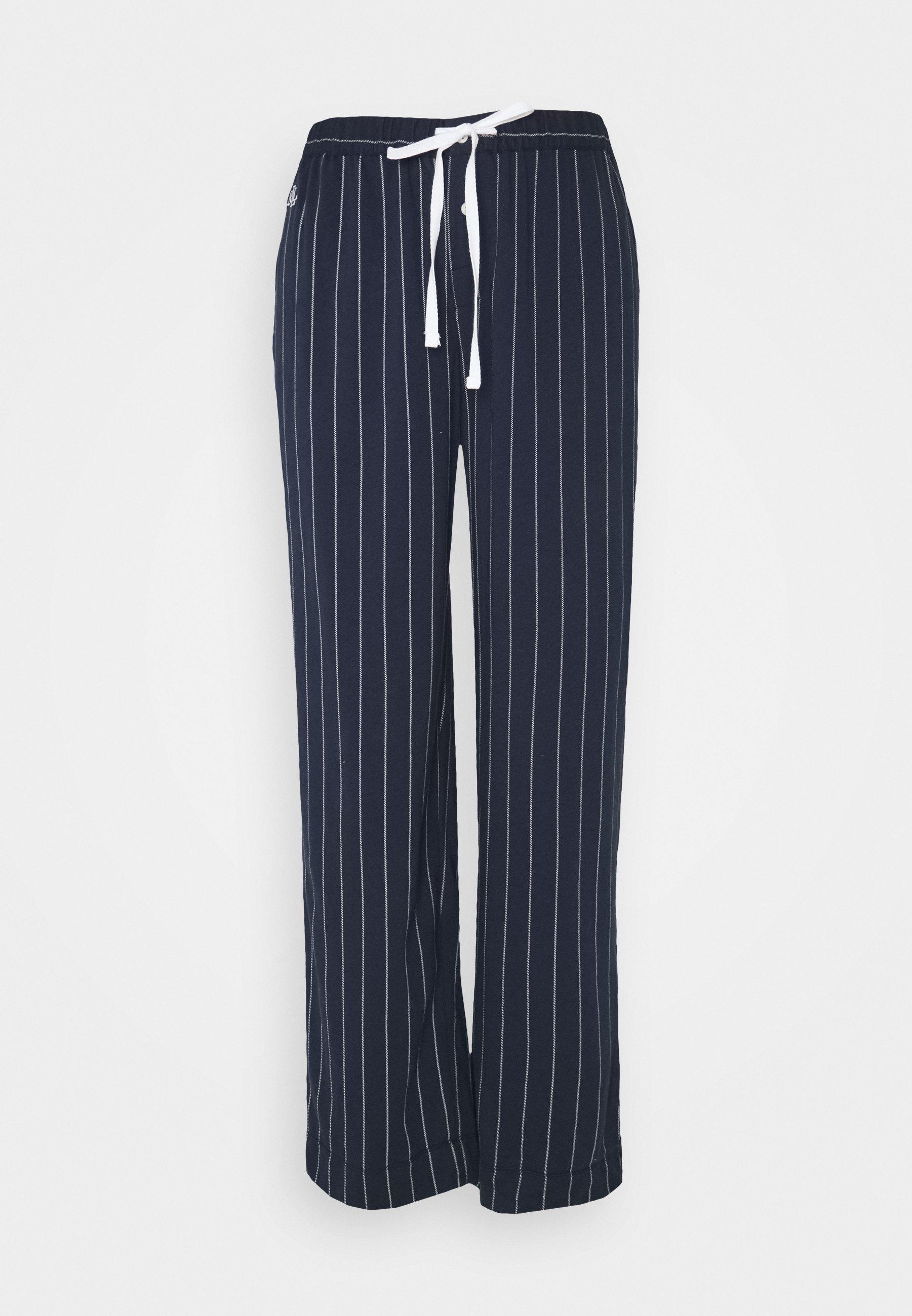 Donna SEPARATE LONG PANTS - Pantaloni del pigiama - navy