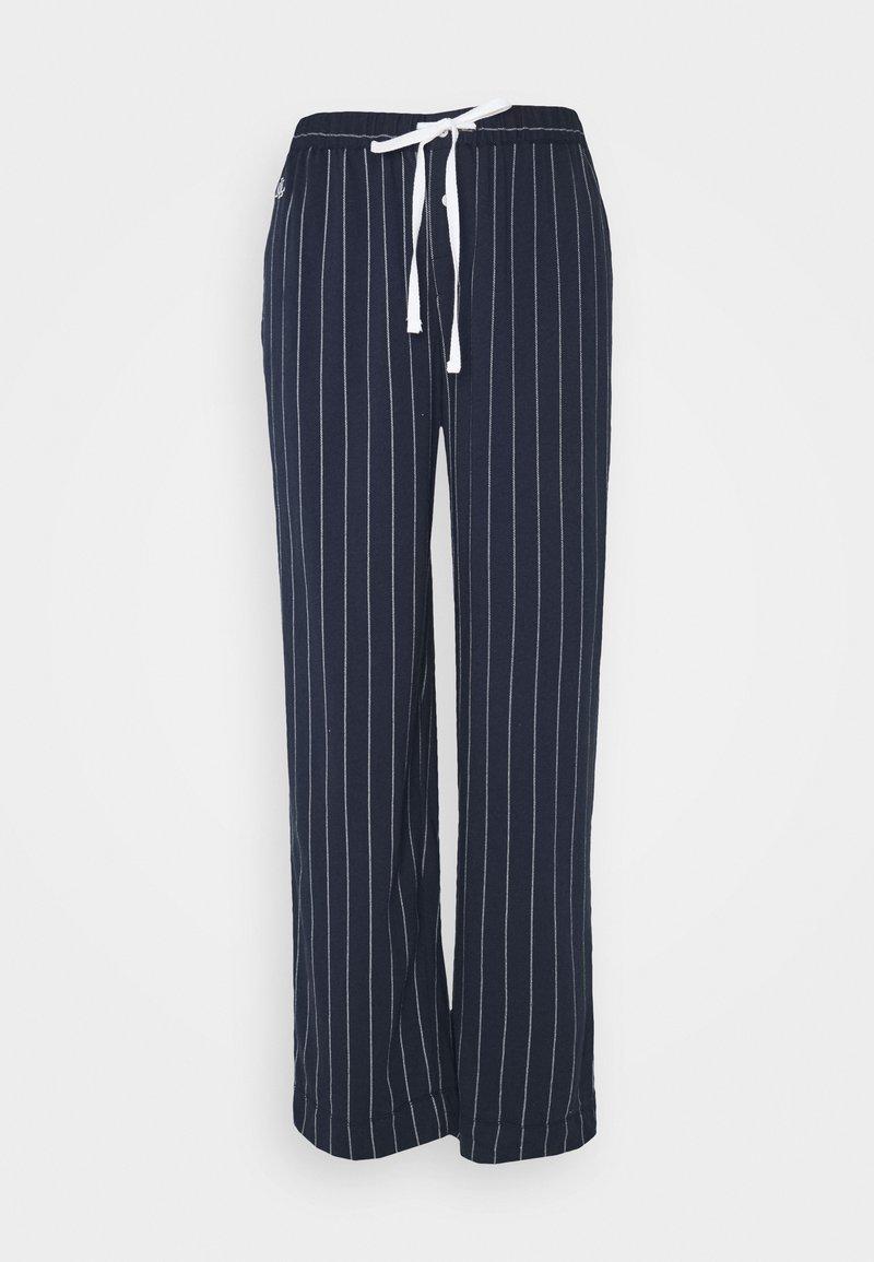 Lauren Ralph Lauren - SEPARATE LONG PANTS - Pyjama bottoms - navy