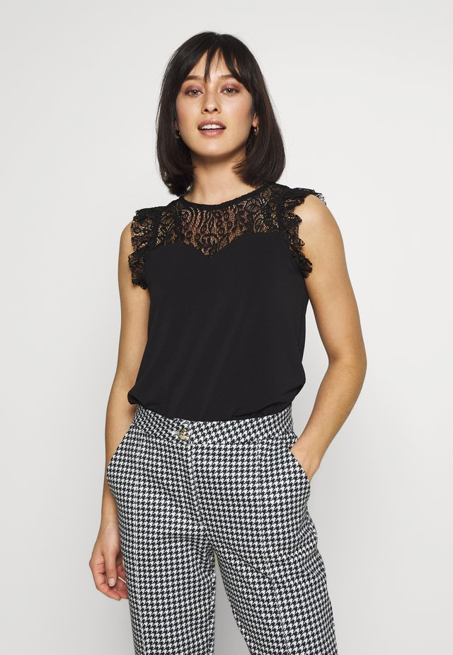 VMALBERTA SWEETHEART - Top - black