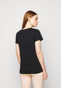 Patrizia Pepe - MAGLIA - T-shirt imprimé - nero - 2