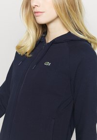 Lacoste Sport - Zip-up hoodie - navy blue