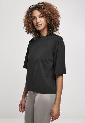2-PACK - Basic T-shirt - white+black