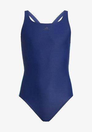 ATHLY V 3-STREIFEN BADEANZUG - Swimsuit - blue