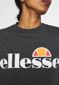 Ellesse - ALBERTA - T-shirts print - dark grey marl - 5