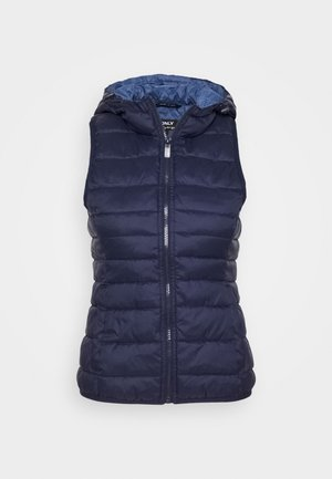 ONLNEWTAHOE QUILTED WAISTCOAT  - Chaleco - night sky