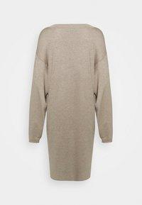 Zign - Strikket kjole - dark brown - 7