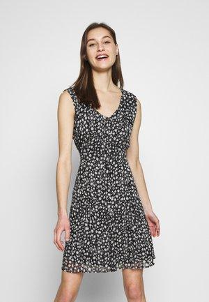 MARYNA DIAMOND - Day dress - black/white
