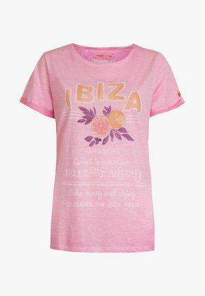 DRUANAL - Print T-shirt - pink