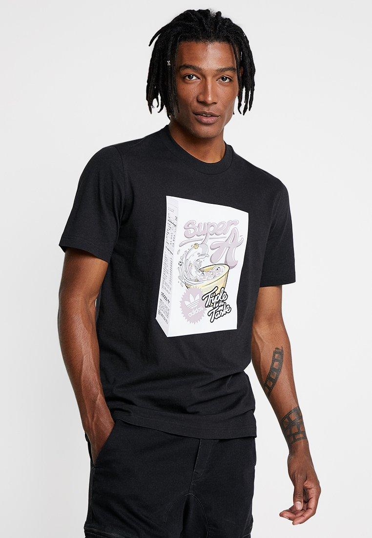 adidas Originals - BODEGA SUPER A POP ART GRAPHIC TEE - Print T-shirt - black