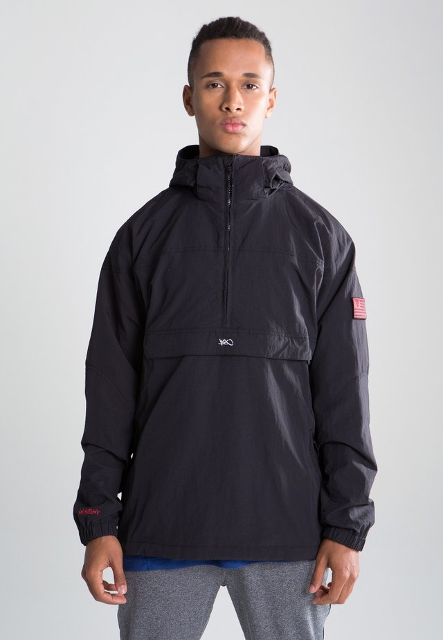 Urban Hooded - Fleece jacket - black