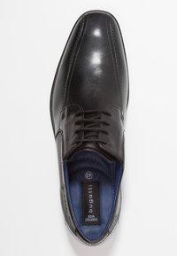 Bugatti - SAVIO EVO - Smart lace-ups - black - 1