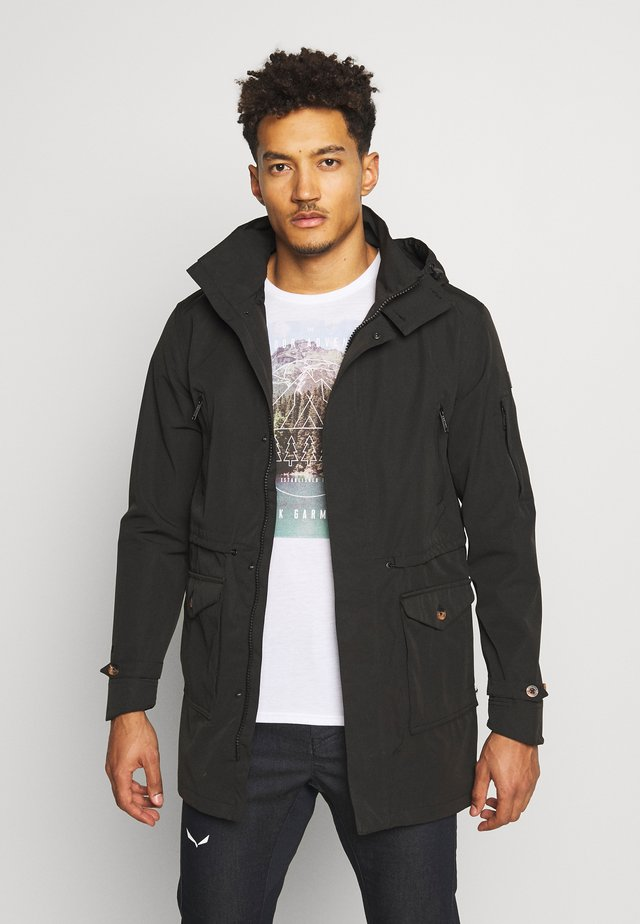 MACARIUS - Short coat - black