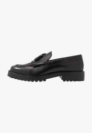 SEAN TASSEL LOAFER - Scarpe senza lacci - black