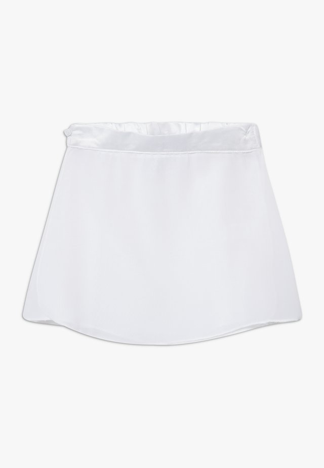 GIRLS BALLET SKIRT - Sports skirt - white