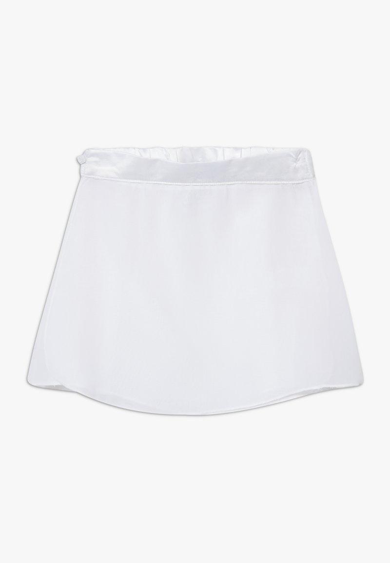 South Beach - GIRLS BALLET SKIRT - Sports skirt - white