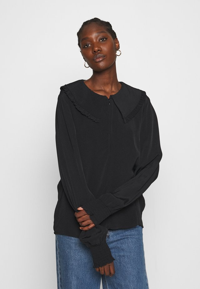 LIMA BLOUSE - Blouse - black