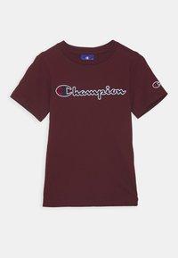 Champion - ROCHESTER LOGO CREWNECK - Camiseta estampada - bordeaux - 0