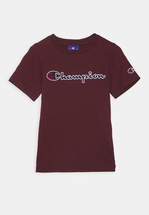 ROCHESTER LOGO CREWNECK - T-shirt imprimé - bordeaux