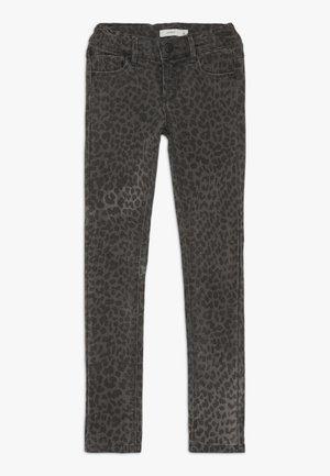 NKFPOLLY TWITULEO PANT  - Jeans slim fit - dark grey