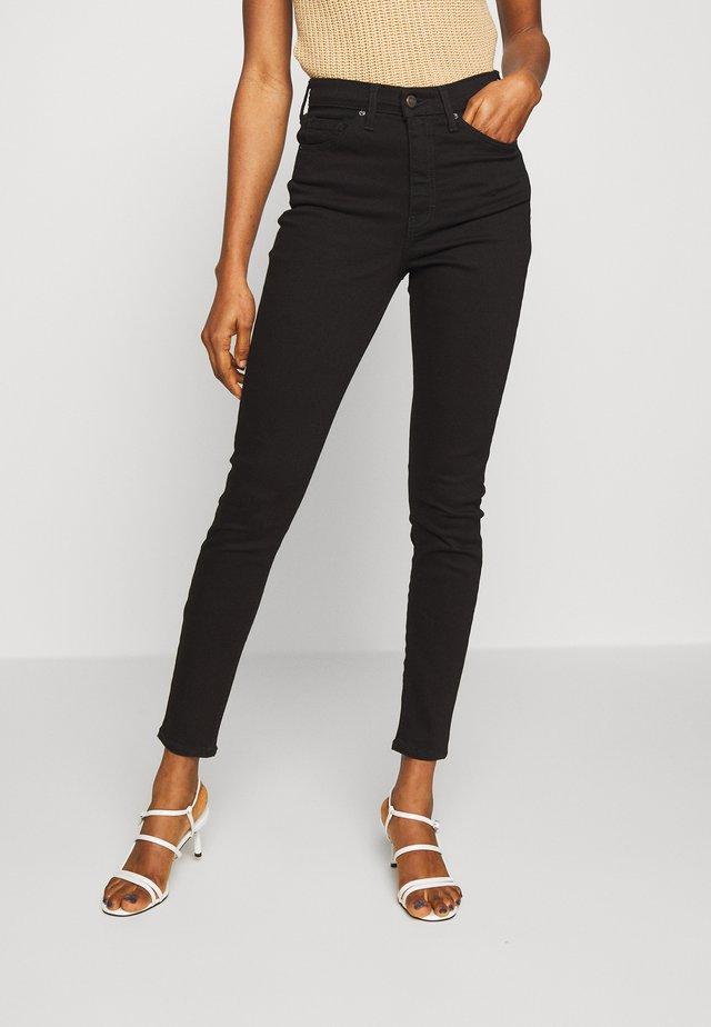JAMIE - Jeansy Skinny Fit - black