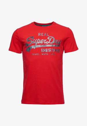 Print T-shirt - rouge red