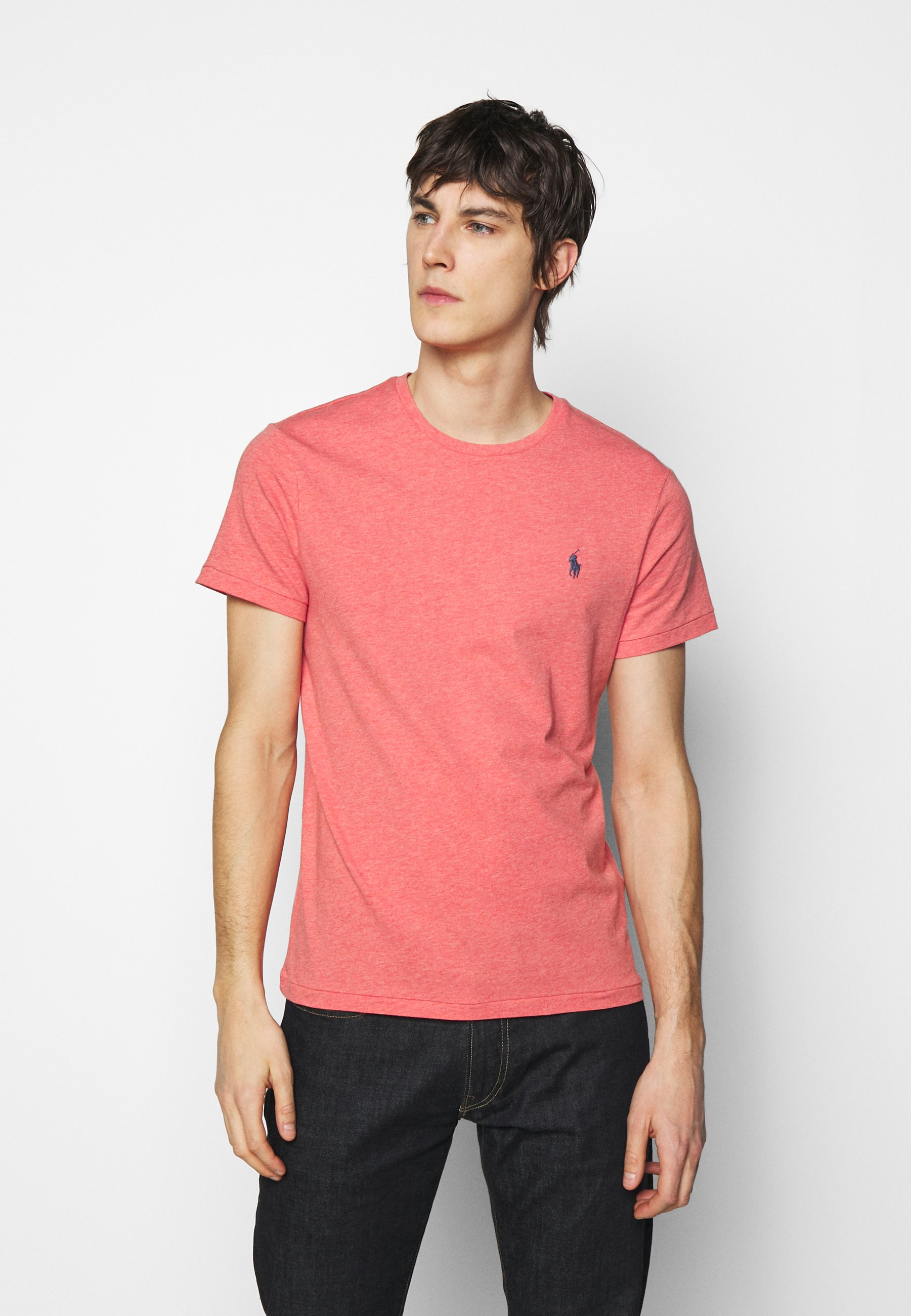 Homme CUSTOM SLIM FIT JERSEY CREWNECK T-SHIRT - T-shirt basique