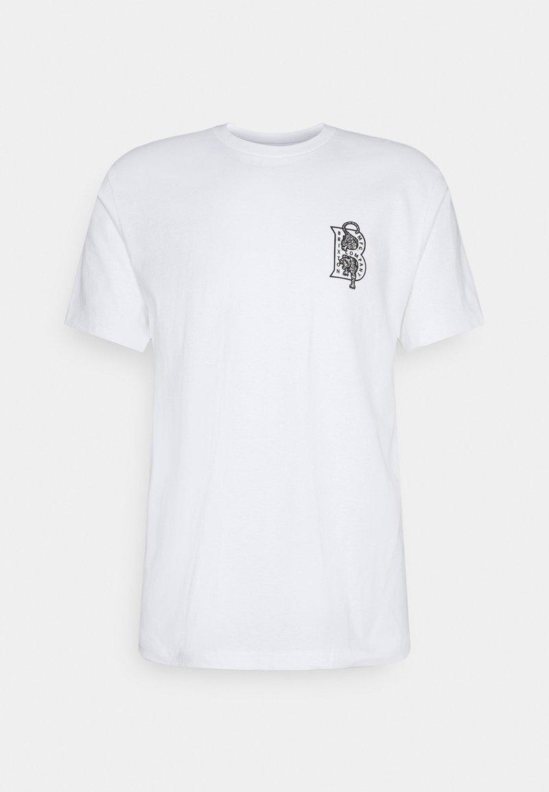 Brixton - CRAWLER - T-shirt imprimé - white