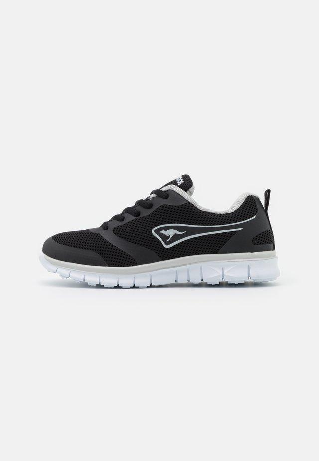 MARCH - Sneaker low - jet black/dark silver